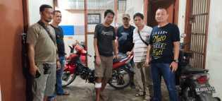 Beraksi di Lau Timah, Curanmor Ini Coba Lari Saat Ditangkap Polisi: Terpaksa Diberi 'Timah Panas'