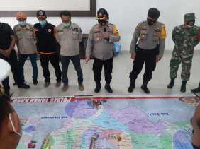 Antisipasi Erupsi Gunung Sinabung, Banjir, Karhutla: TNI Polri dan BNPB Gelar Tactical Floor Game