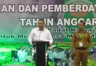 Menteri PDTT ke Riau : Proyek Dana Desa Harus Swakelola