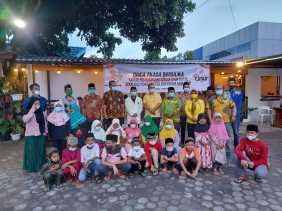 DPD II Partai Golkar Karo Buka Puasa Bersama dan Pemberian Tali Asih Bagi Anak Yatim-piatu.