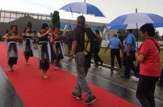 Jokowi Resmikan Bandara Internasional Silangit Pakai Bahasa Batak
