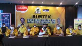Ketua DPD Partai Golkar Gelar Bimtek, Musa Rajekshah : Jangan Takut Divaksin