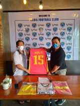 Nabil FC Gandeng Trust Apparel Sebagai Sponsor