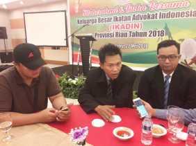 Ketua DPD IKADIN RIAU: Sejak Awal Berkomitmen Melahirkan Advokat Pejuang