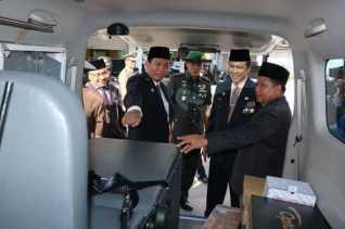 DP3A Pekanbaru Terima Bantuan Molin dan Torlin dari Kementrian PPPA