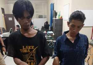 Ditemukan Narkotika, Polres Karo Ringkus Noni dan Darwis di Jalan Mariam Ginting