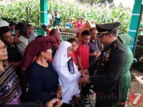 Dandim 0205/TK Pimpin Pemakaman Secara Militer Praka Sabarkita Sembiring