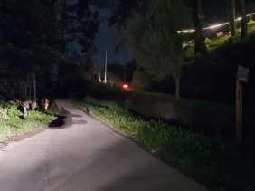 Warga Sebut Akses Jalan Utama ke Puncak Gundaling Minim Penerang Lampu Jalan