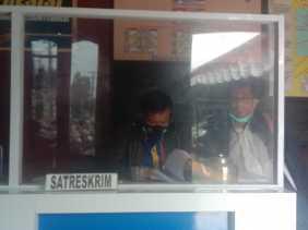 Tanahnya Diserobot , Robianto Sembiring SH MH Lawyer PT BUK Melapor Ke Polres Tanah Karo