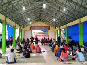 Masyarakat Desa Gung Pinto Usulkan Dibangun Embung Desa ke Anggota DPR - RI Bob Andika Mamana Sitepu