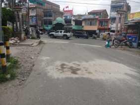 Jalan Diperbaiki, Warga Desa Semangat Sampaikan Terima Kasih ke Pemkab Karo