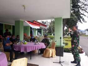 Dandim 0205/TK Gelar Coffee Morning Bersama Wartawan