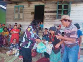 Kembali, DPD IPK Karo Salurkan Bantuan Sembako ke Masyarakat yang Terdampak Covid 19