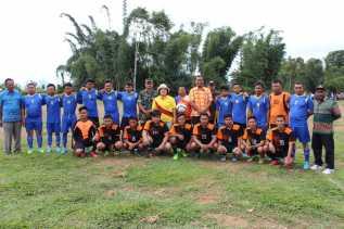 Wabup Karo Buka Turnamen APDESI CUP II di Kecamatan Barusjahe