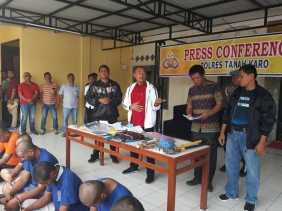 Januari - Februari 2019, Inilah Kasus -kasus Pidana di Polres Karo dari 29 Orang Tersangka