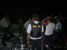 Ops Cipkon, Anak - anak Tertangkap Ngisap lem Dibawa ke Polsek Panipahan