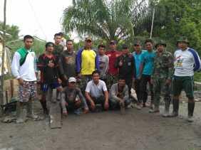 TNI-MMD Hari ke 7, Pengerjaan Box Culvert di Desa Raja Bejamu bersama Warga