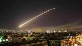 Damaskus Membara Akibat Serangan Udara