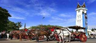 Potret Bendi: Museum Berjalan Dari Ranah Minang.