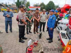 Terkait Penggulangan Bencana Alam, Polres Karo Gelar Apel Kesiapsiagaan Bencana Alam Nusa II