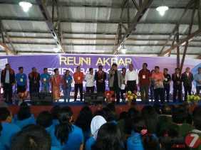 Tanah Karo: Alumni SMPN 1 Batukarang Gelar Reuni Akbar