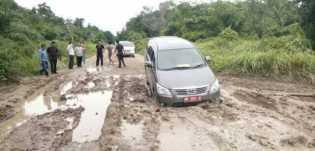 PUPR: Angka Kerusakan Jalan di Riau Masih Tinggi