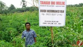 Cegah Timpang Tindih (Overlapping) Alas Hak Tanah, Lurah Pembatuan Imbau Agar Dipasang Plang Nama
