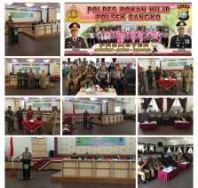 Pemkab Rohil bersama Polres Rohil Teken MOU Calon Anggota Polisi Bagi Pelajar Berprestasi