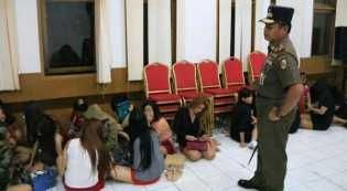 Razia Hotel dan Hiburan Malam: 66 Orang Terjaring Razia Satpol PP Pekanbaru