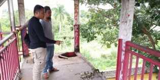 Pagar JPO di Jalan Sudirman Hilang, Dishub Pekanbaru Langsung Cek ke Lokasi