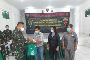 Yonif 125/Simbisa Syukuran Bersama PERS Setelah Pulang Dari Perbatasan RI - PNG