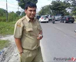 UPT Wilayah II PUPR  Riau Survei dan Data Kerusakan Jalan Skala Kecil di S.Amin