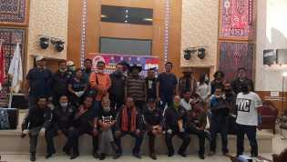Resmi Terbentuk, Deklarasi Otarase Juga Lantik Pengurus Kabupaten Kota di Sumut