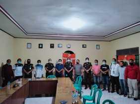 Jalin Silaturahmi, Kajari Karo Sambangi Kantor PWI Karo, Dairi dan Pakpak Bharat