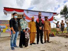 HUT Bhayangkara ke-74 Bedah Rumah, Betesda Ginting: Terima Kasih Polri Khususnya Polres Karo