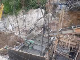 Juga Jalan Alternatif ke Aceh, Satgas Pra- TMMD Kodim 0205/TK Bangun Jembatan Kacaribu - Kandibata