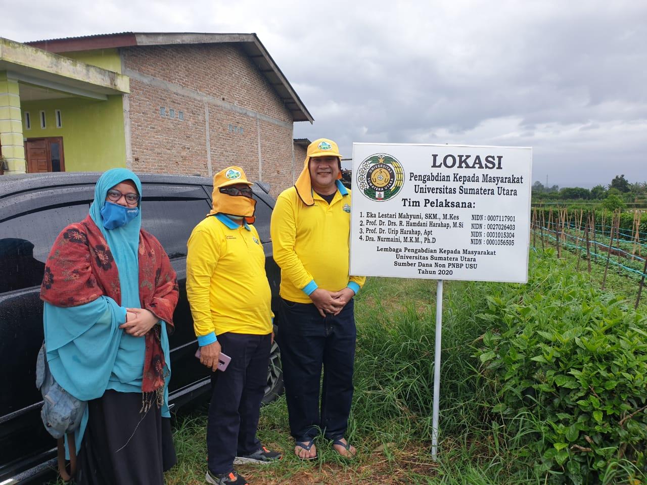 PKM - USU, Camat Kabanjahe Apresiasi Aksi Gempar Untuk Petani Karo di Desa Sumbul