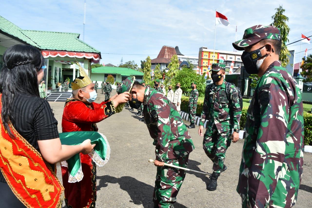 Pangdam I/BB Mayjen TNI Hassanudin Kunker Ke Wilayah Kodim Nias Dan Sampaikan Rasa Bangganya
