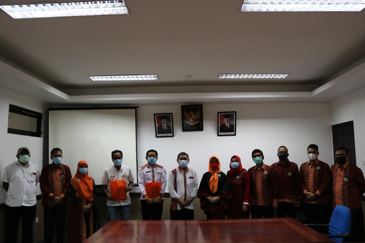 Bupati Karo Terima Kunjungan Universitas Harapan Medan