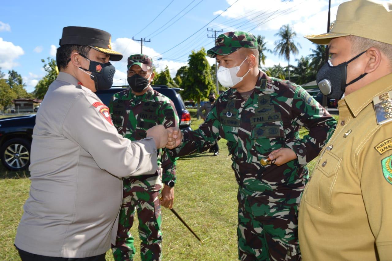 Wakapolri Kunjungan Kerja Ke Wilayah Korem 023/KS