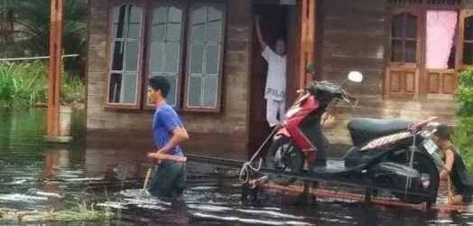 1.070 Rumah di Kabupaten Bengkalis Terendam