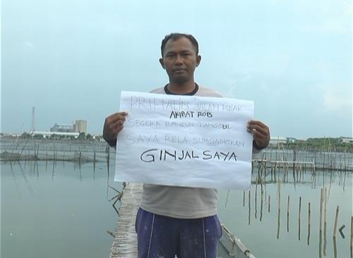 Banjir Rob di Demak Rendam Rumah, Suharno Rela Sumbangkan Ginjal untuk Bangun Tanggul