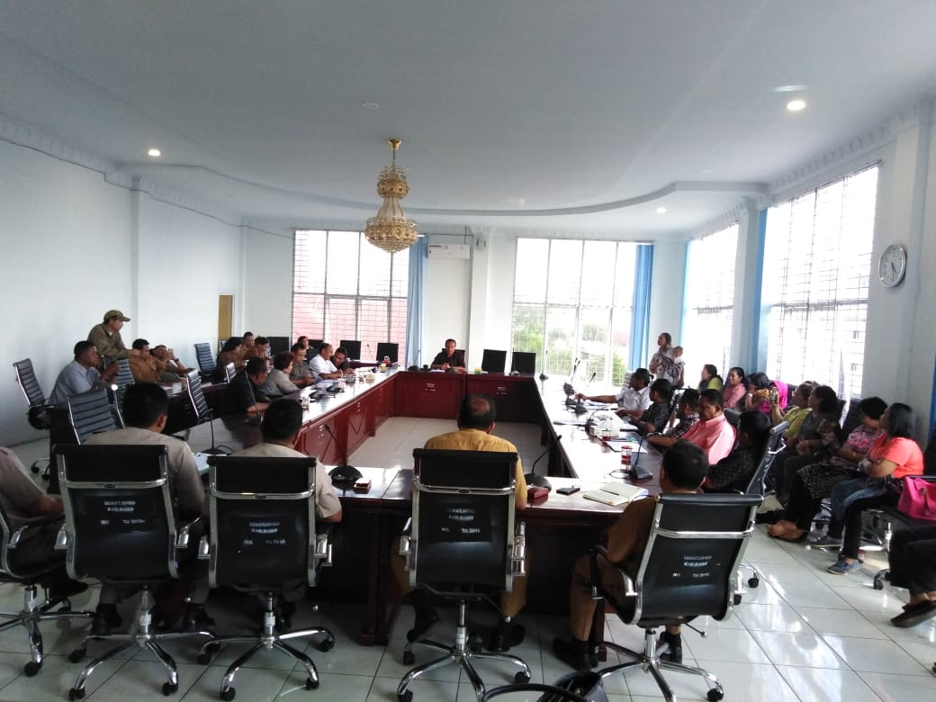 RDPU di DPRD Karo: Ungkap Soal SHM Milik Pedagang Mulawari Mart Diduga Ada Konspirasi