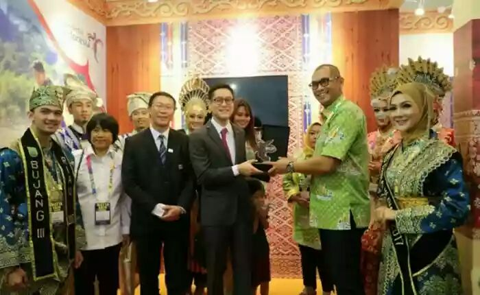 MATTA Fair 2018 di Penang: Stand Riau Ramai Dikunjungi Wisatawan