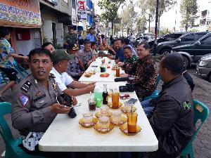 Ini yang Dibahas Bupati Karo Saat Coffee Morning  bersama TNI, Polri, Forkopimda, dan Media